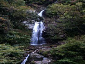恋に効く!?二つの川が一つになる縁結びの滝 ~原不動滝(兵庫県宍粟市)