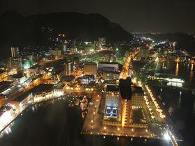 駅近の絶景夜景スポット♪関門海峡も一望!~夜の門司港レトロおススメコース