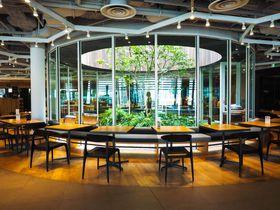 大阪「ヤンマー本社」最上階でお得ランチ!社員食堂は土日だけ一般開放