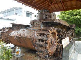 太平洋戦争を戦った戦車を祀る若獅子神社~富士宮市~