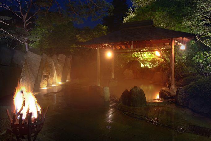 花と緑に包まれて心和む仙台・秋保温泉『篝火の湯 緑水亭』