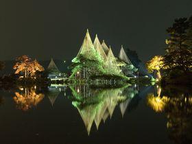 幻想的な秋の金沢城や兼六園。プロジェクションマッピングも開催!|石川県|[たびねす] by Travel.jp