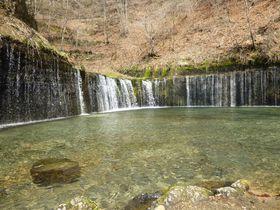 軽井沢発おすすめドライブルート~白糸の滝・鬼押出し園・嬬恋牧場