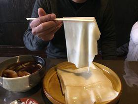 群馬・桐生名物。ひもかわうどん、2大有名店を食べ比べ!|群馬県|[たびねす] by Travel.jp