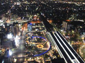 JR岐阜駅から徒歩3分!無料が嬉しい『岐阜シティ・タワー43』からの夜景!