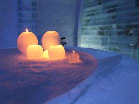 冬のイベント 北海道「アイスヒルズホテル」でキャンドル作り体験|北海道|トラベルjp<たびねす>