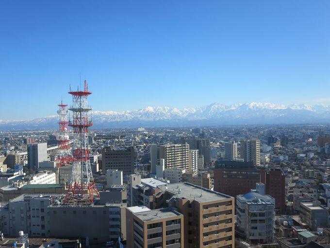 富山市中心部から立山連峰を眺めるオススメスポット5選☆ ...