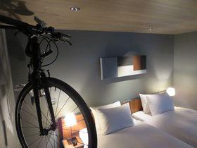 自転車もお部屋へご案内。尾道「HOTEL CYCLE」|広島県|[たびねす] by Travel.jp