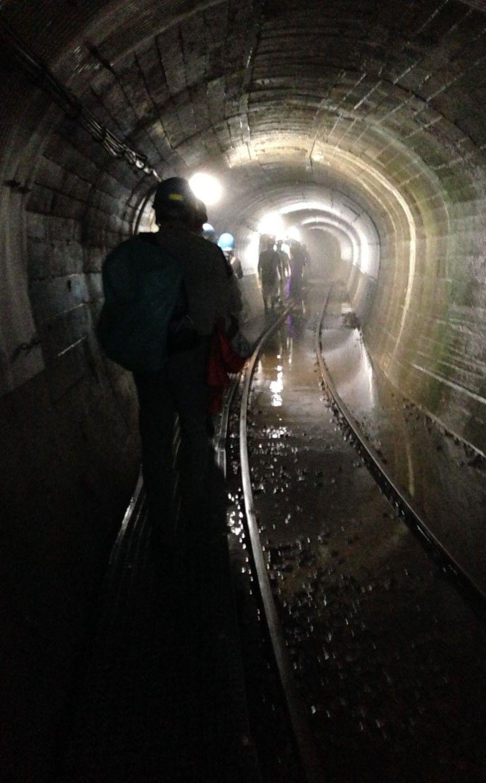 今、竪坑ツアーが面白い!黒部渓谷トロッコ電車もうひとつの楽しみ方!