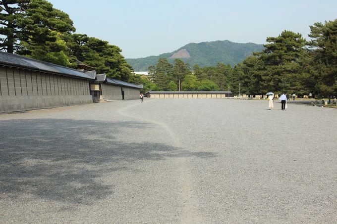 京都御苑に存在する「御所の小道」は謎の自転車道!