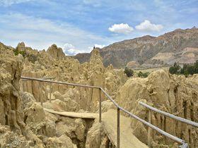 月面散歩しませんか?ボリビアで月の谷を歩く。