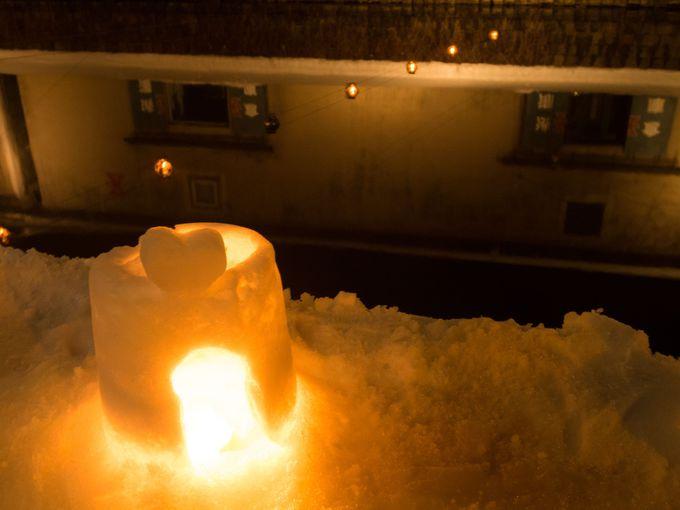 幻想的な冬の風物詩!温もりあふれる「小樽雪あかりの路」