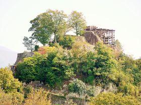 岐阜中津川「苗木城跡」は巨岩に築かれた龍伝説が残る天空の城