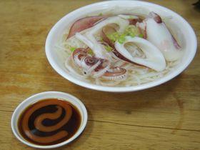 台南必食グルメ!胃にやさしいイカスープを「葉家小卷米粉」で!