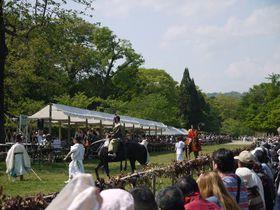 迫力満点!目の前を馬が駆け抜ける!葵祭の祭儀・上賀茂神社競馬(くらべうま)|京都府|Travel.jp[たびねす]