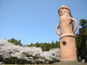 茨城のインスタ映えスポット「くれふしの里古墳公園」で日本一大きなはにわに登ろう!