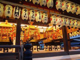 祇園祭の主役は三基の神輿!「神幸祭」と「還幸祭」の勇壮な神輿渡御は必見です