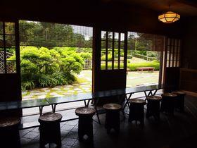 初夏の緑とお抹茶を!びわこ文化公園・茶室「夕照庵」が超穴場