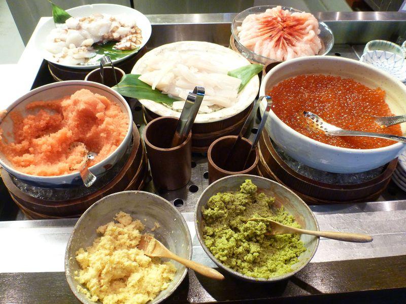 朝食日本一!「ラビスタ函館ベイ」で海鮮丼、焼き物、スイーツ・・充実の朝ごはん♪