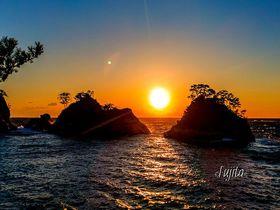 西伊豆「堂ヶ島海岸」は誰でもインスタ映えが狙える夕日の名所