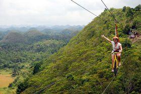 フィリピン・ボホール島のチョコレート・ヒルズへ。空中から不思議な光景を一望!