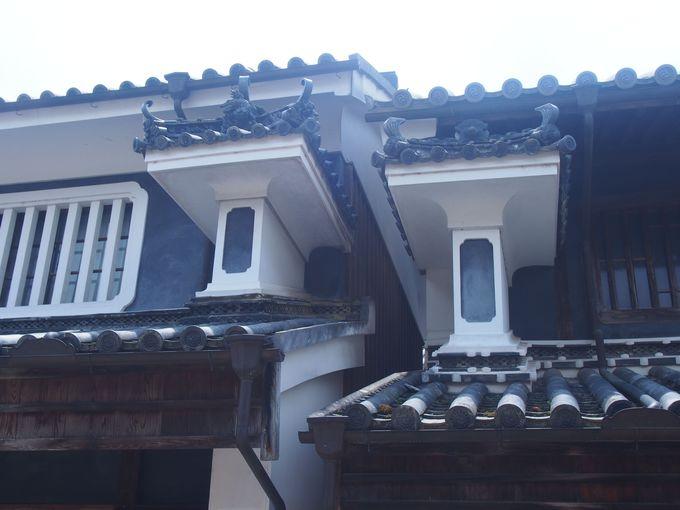 徳島の軒下に見る建築の粋「うだつ」~吉野川流域、脇町・貞光~