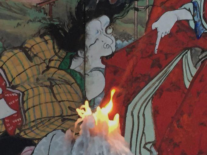 炎に浮かぶ猥雑極彩画 これぞ夏夜の奇祭、土佐赤岡「絵金祭り」