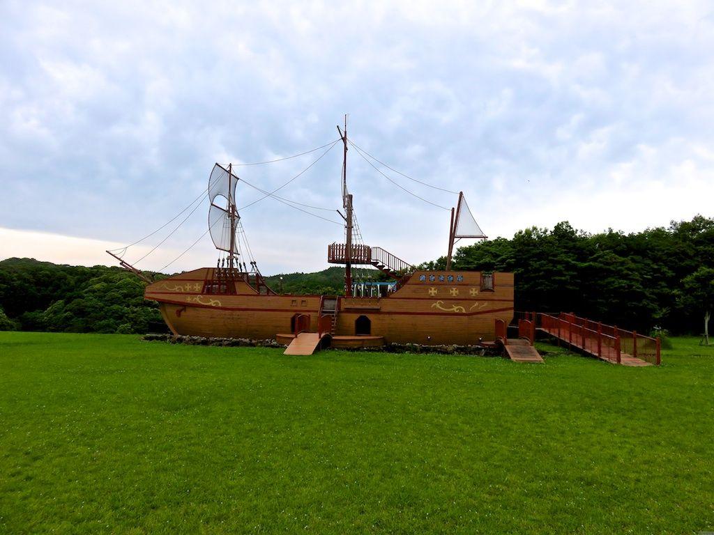 芝生に帆船にゴーカート!種子島「あっぽーらんど」で遊ぼう!