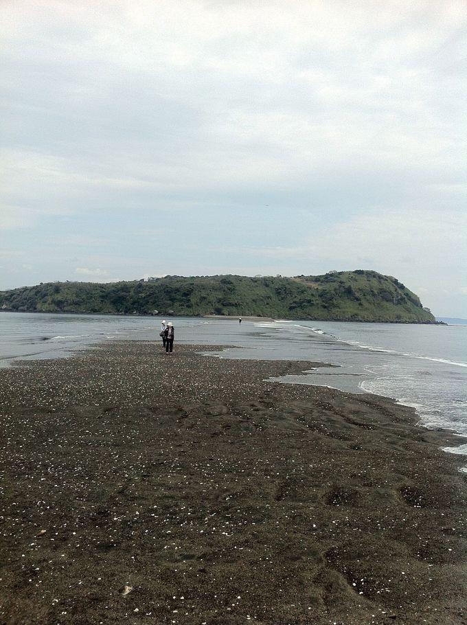 海の中から道が出現!?渡れるパワースポット・指宿「知林ヶ島」