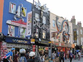 ロンドン・パンクな街「カムデンタウン」で巨大マーケットを楽しんじゃおう!