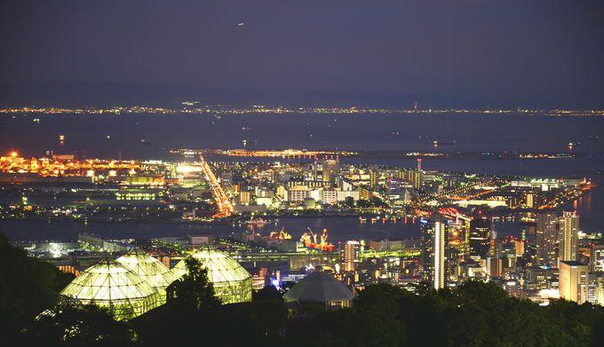 新神戸駅からわずか10分!「神戸布引ハーブ園」で心に刻む1000万ドルの輝き