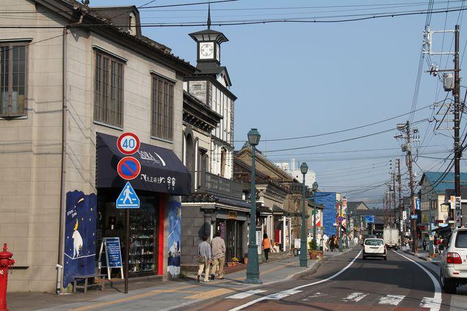 ロマンチック小樽、賑やかな「堺町通り」を散歩。有名な「北一硝子」からメルヘン交差点へ