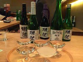 日本酒ファン待望の獺祭専門店!東京都京橋「獺祭Bar 23」がすごい|東京都|Travel.jp[たびねす]