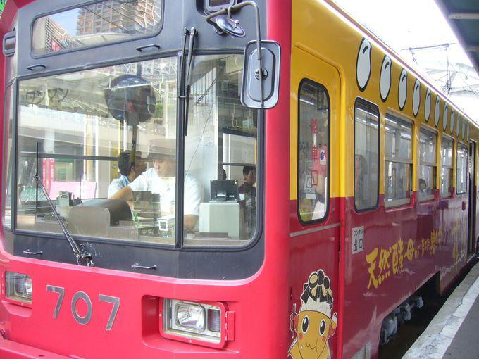 チンチン電車(阪堺電車)で行く茶の湯と和スイーツの旅