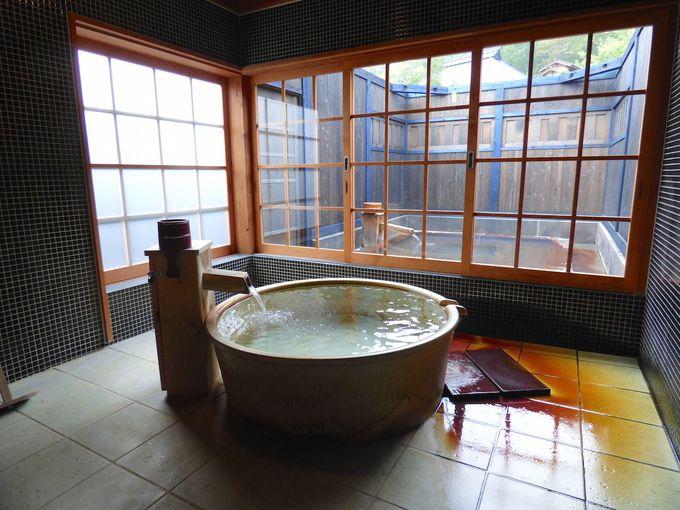 星が見える離れの露天風呂!泊食分離の奥黒川温泉「深山山荘」