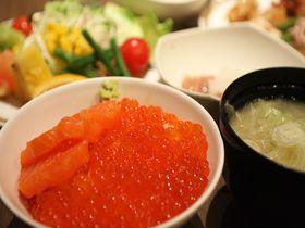 新鮮なイクラが朝から食べ放題!温泉も入れる 札幌・ホテルパコジュニアススキノ 北海道 トラベルjp<たびねす>