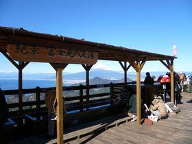 富士山の絶景にどっぷり浸ろう!伊豆の国パノラマパーク「富士見の足湯」と空中公園|静岡県|Travel.jp[たびねす]