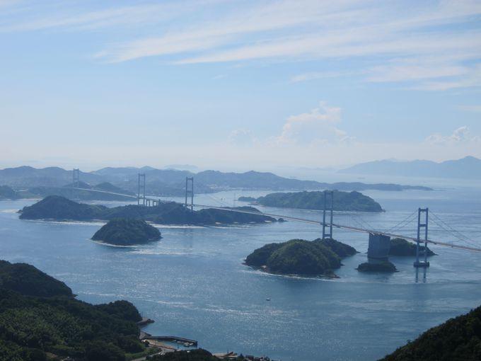 絶景のしまなみ海道、より美しく見える厳選展望スポット3選