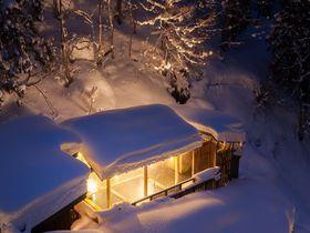 豪雪新潟のほっこり雪見風呂・松之山温泉「ひなの宿 ちとせ」