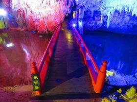 岡山県新見市「満奇洞」のあまりに幻想的な美しさ