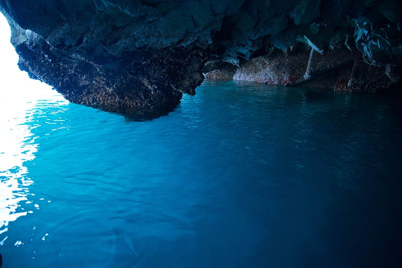 """岩手「浄土ヶ浜」には""""青の洞窟""""が存在した!スリルと感動の洞窟遊覧"""