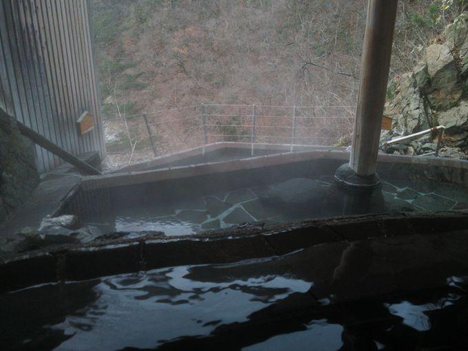 棚田風3段造りの絶景露天風呂!会津若松の奥座敷 芦ノ牧温泉「大川荘」