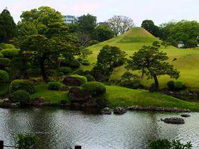 絶景をお供にお茶&和菓子をパクッ!熊本県「水前寺成趣園」