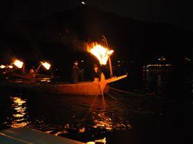 幽玄に映る闇夜の松明!岐阜・長良川の鵜飼が魅力的!