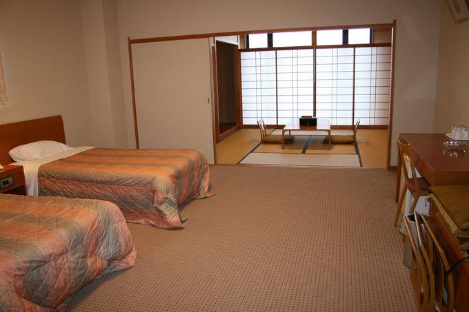 静寂の中で高級感漂う高原ホテルの趣、福岡県英彦山「ひこさんホテル和」