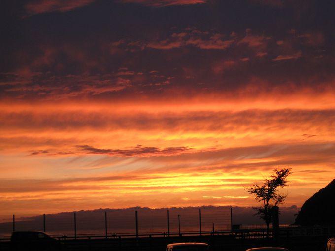 陸奥湾の夕焼けが美しい!「宿屋つばき」で浅虫温泉をまるごと楽しんじゃおう!