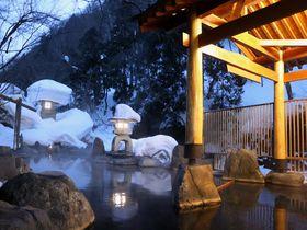 群馬県の秘湯、宝川温泉「汪泉閣」で天下一の雪見露天風呂を愉しむ!