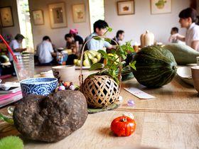 里山で伝統の大和野菜を味わう。奈良「清澄の里 粟」