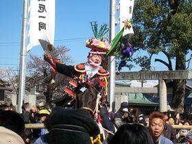 「上げ馬神事」で800年の若き雄叫びを!~三重県員弁