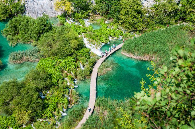 プリトヴィツェ湖群国立公園の画像 p1_21